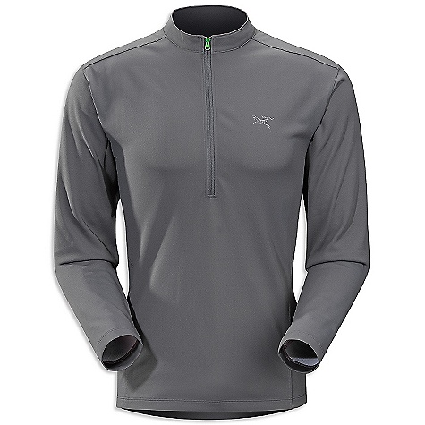 photo: Arc'teryx Incline Zip-Neck LS long sleeve performance top