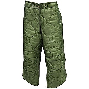 photo: U.S. Military M65 Trouser Liner synthetic insulated pant