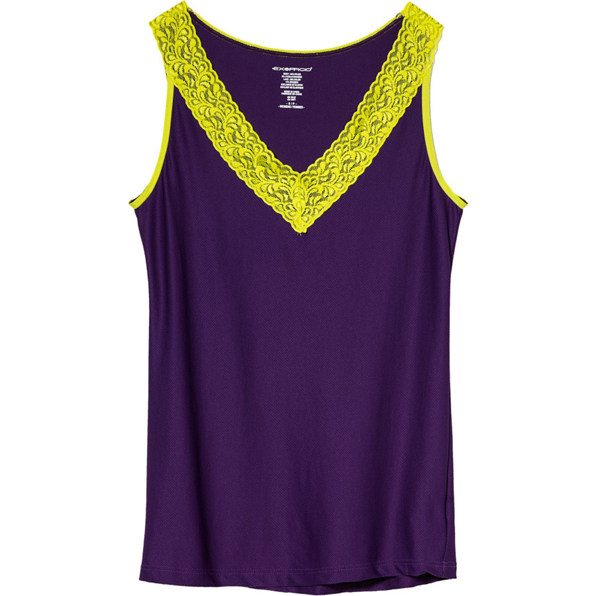 photo: ExOfficio Give-N-Go Lacy Tank base layer top