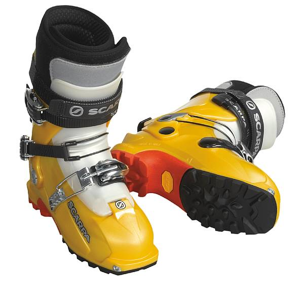 photo: Scarpa Magic telemark boot