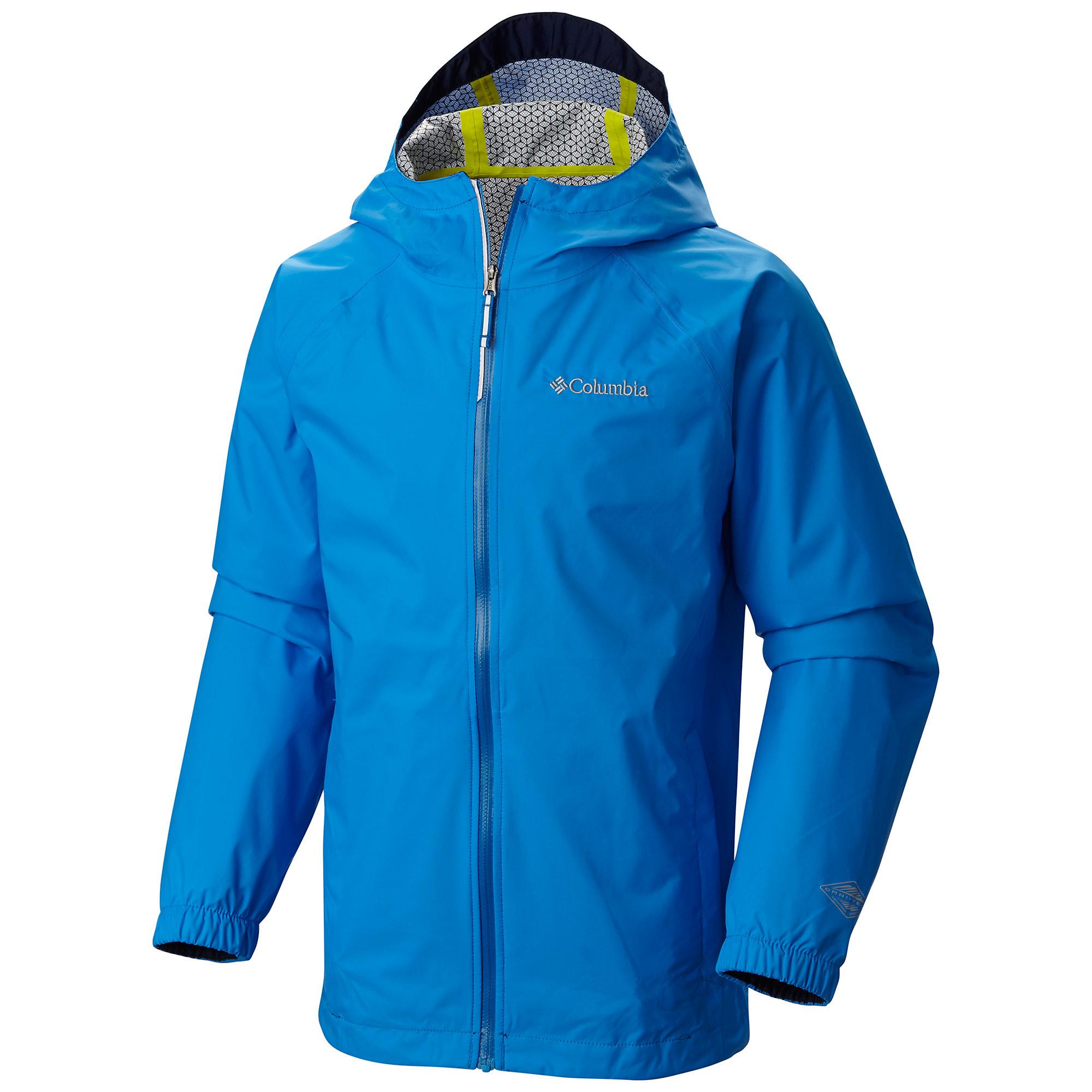 photo: Columbia Girls' EvaPOURation Jacket waterproof jacket