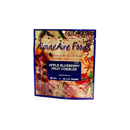 photo: AlpineAire Foods Apple-Blueberry Fruit Cobbler dessert