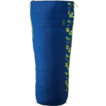 photo: Marmot Kids' Mavericks 40 Semi Rec warm weather synthetic sleeping bag