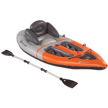 photo: Sevylor Quikpak K1 Coverless Sit-On-Top Kayak kayak
