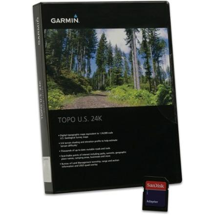 photo: Garmin TOPO U.S. Mid-Alantic 24K microSD us south map application