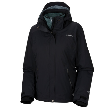 photo: Columbia Le Flash Parka component (3-in-1) jacket