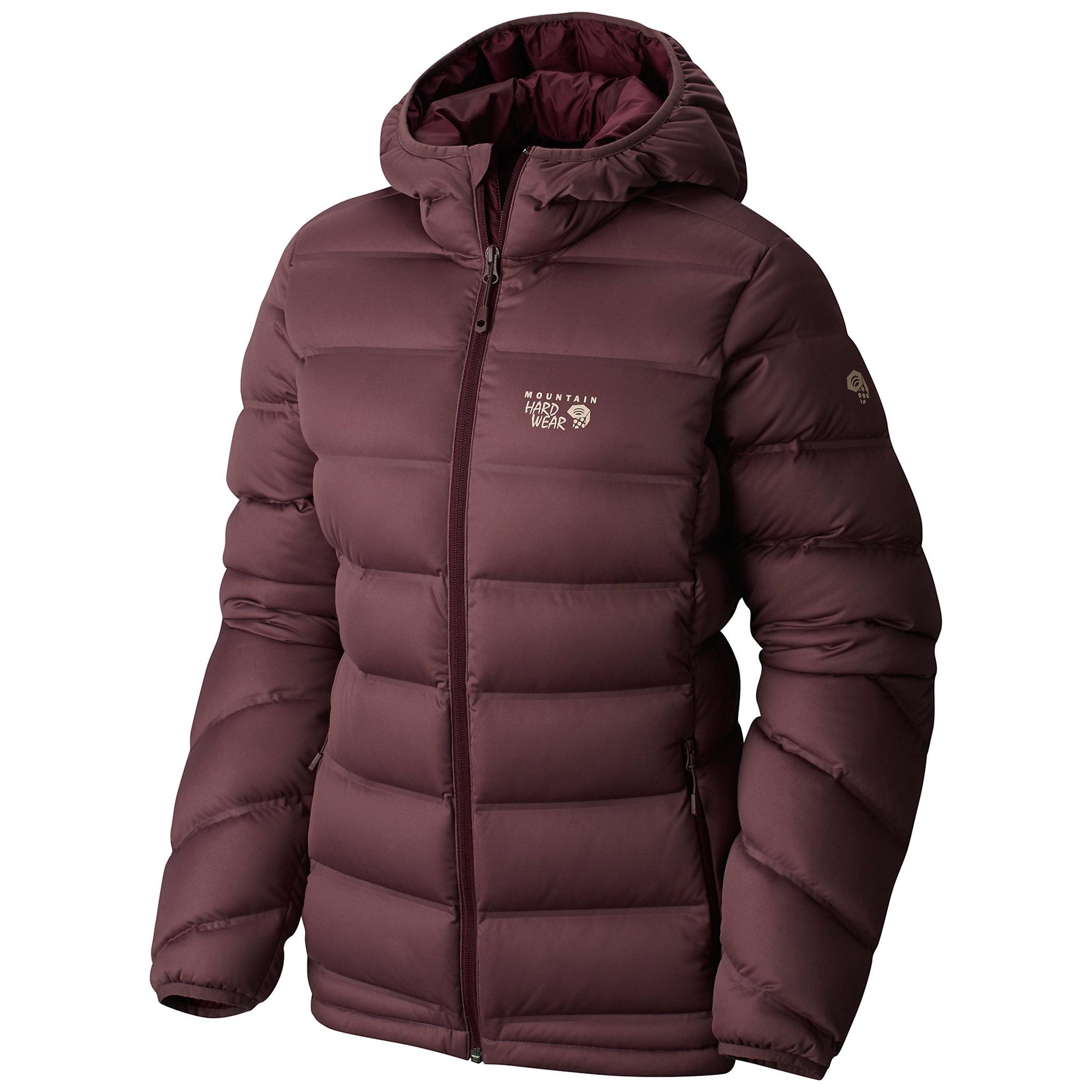 photo: Mountain Hardwear Women's StretchDown Plus Hooded Jacket down insulated jacket