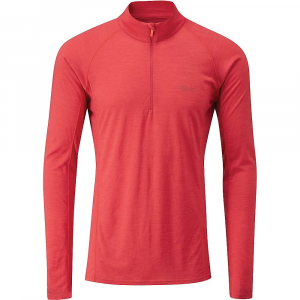 Rab Merino+ 120 Long Sleeve Zip Tee