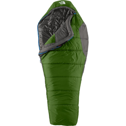 photo: The North Face Women's Aleutian 4S 0 3-season synthetic sleeping bag