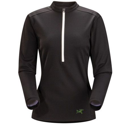 photo: Arc'teryx Men's Incline Zip-Neck LS long sleeve performance top