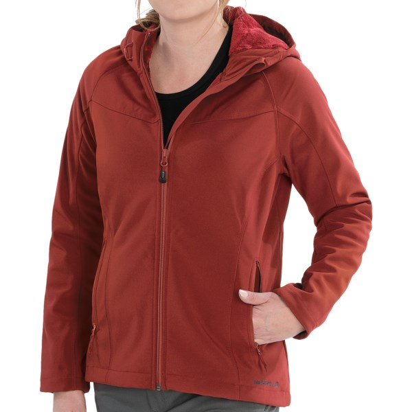 photo: Merrell Layne Hooded Softshell soft shell jacket