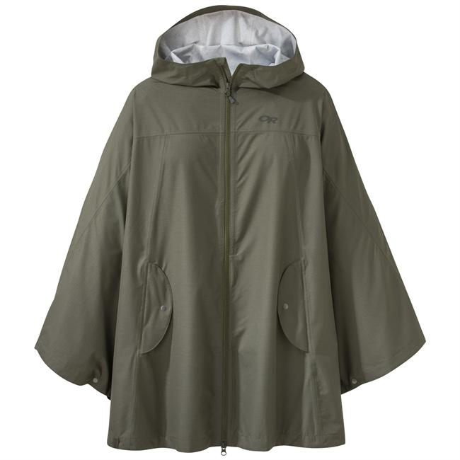 photo: Outdoor Research Panorama Point Poncho waterproof jacket