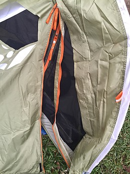 Aside from that great tent. Lightweight. Very roomy. Had enough room for me and my gear. Waterproofing is great but was not able to fully close the fly ... & Mountain Hardwear Sprite 1 Reviews - Trailspace.com