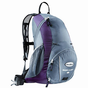 photo: Deuter Race X Air I SL hydration pack
