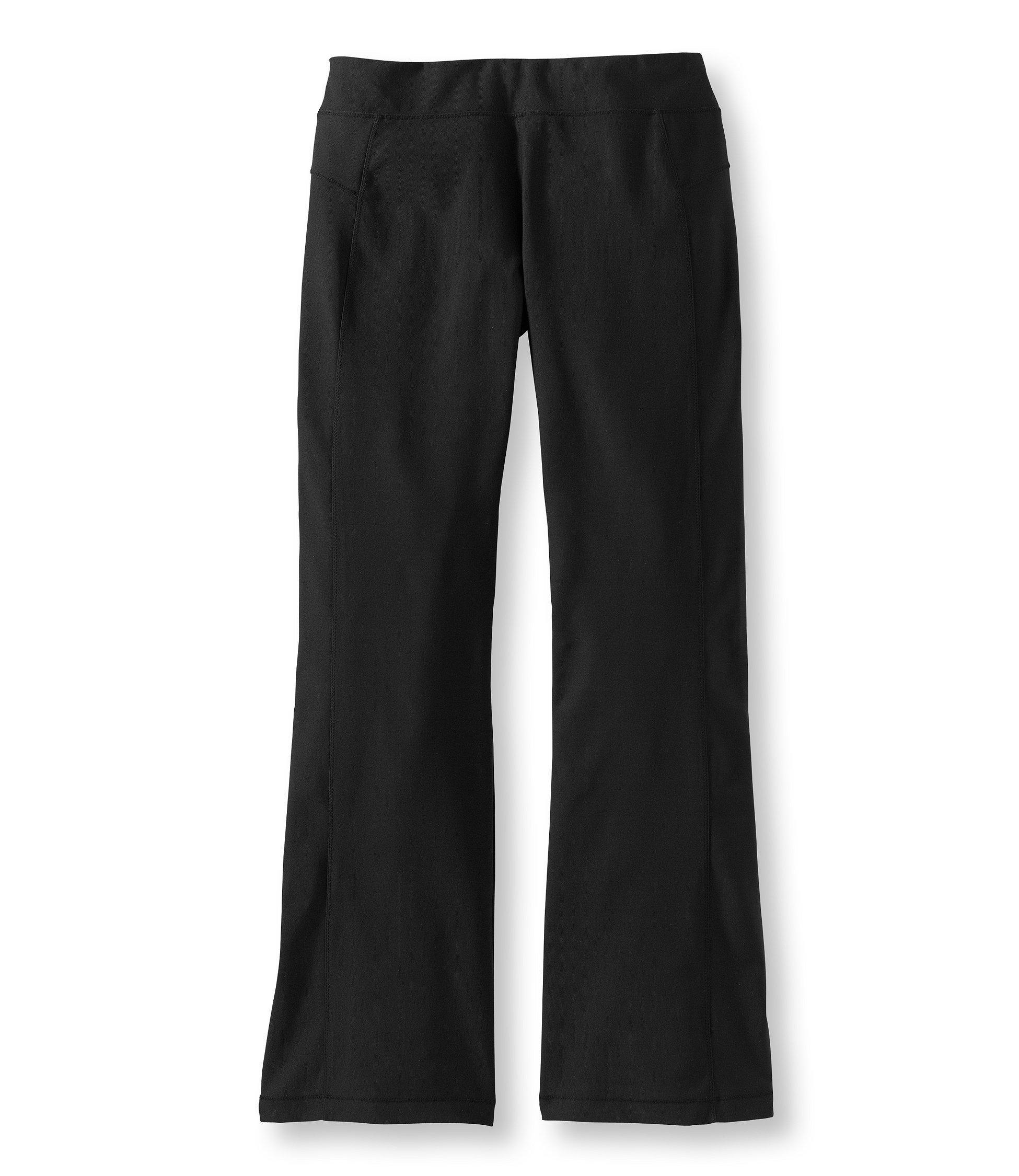 photo: L.L.Bean Fitness Pants, Boot-Cut performance pant/tight