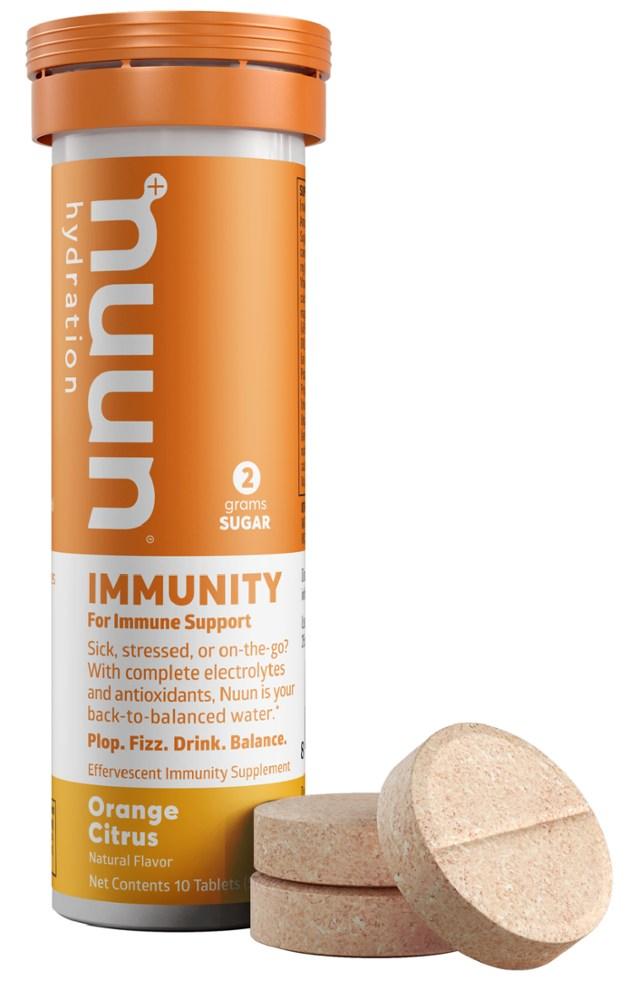 photo: Nuun Immunity Hydration Tablets drink