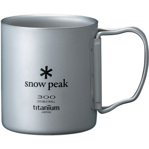 Snow Peak Titanium Double Wall 300 Cup