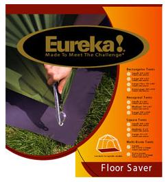 photo: Eureka! Floor Saver Rectangular 3X footprint