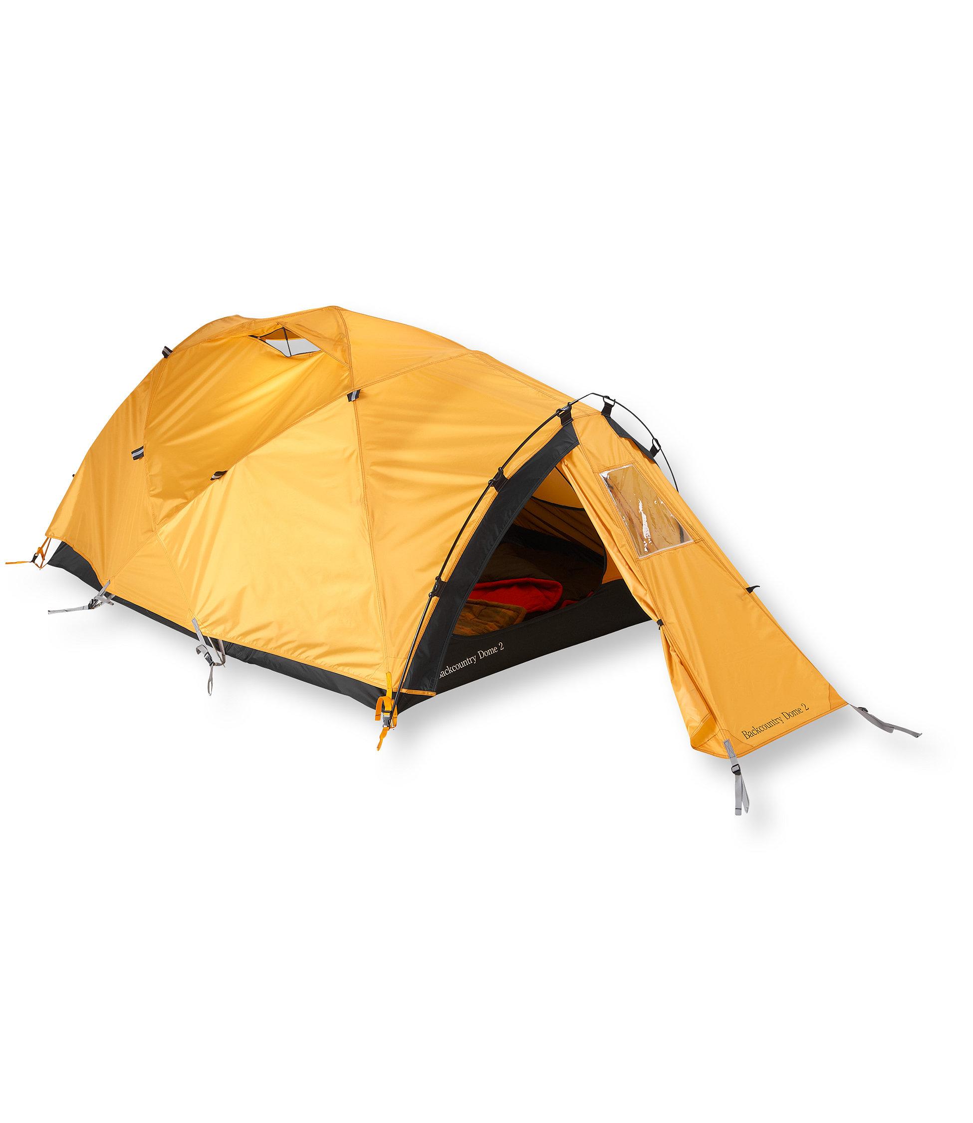 photo: L.L.Bean Backcountry 2-Person Dome four-season tent