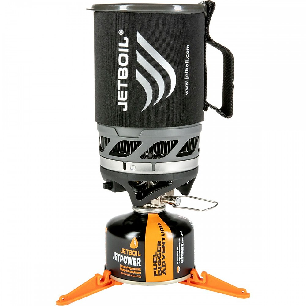 photo: Jetboil MicroMo Cooking System compressed fuel canister stove