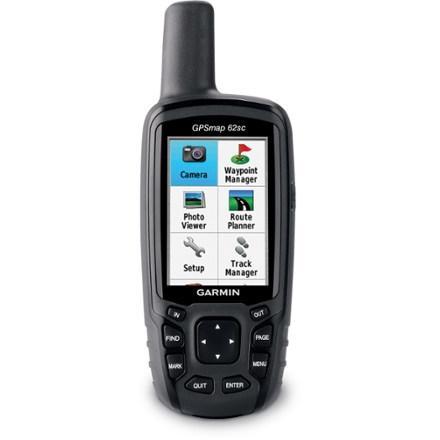 photo: Garmin GPSMAP 62sc handheld gps receiver