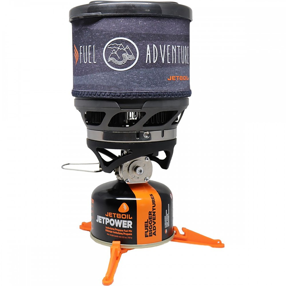 photo: Jetboil MiniMo Cooking System compressed fuel canister stove
