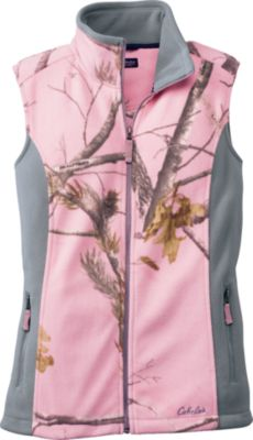 Cabela's Camo Camp Fleece Vest