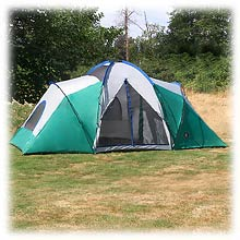 photo of a Academy Broadway tent/shelter