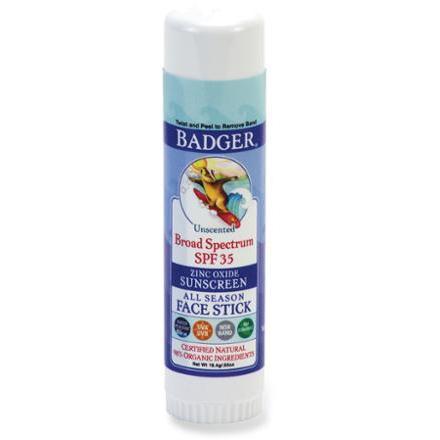photo: Badger Sport Broad Spectrum SPF 35 Face Stick Sunscreen sunscreen