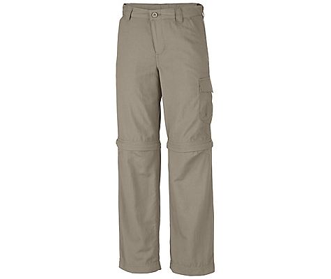 photo: Columbia Boys' Silver Ridge II Convertible Pant hiking pant