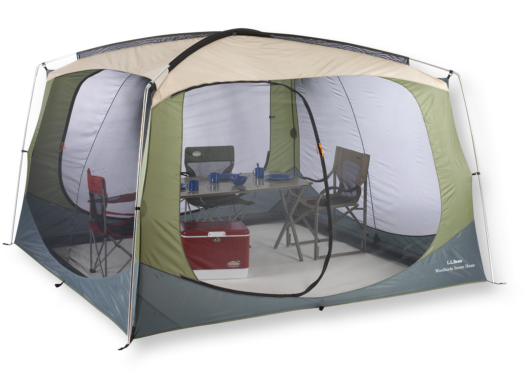 photo: L.L.Bean Woodlands Screen House canopy