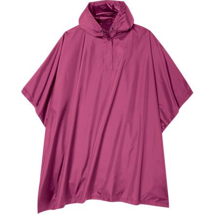 photo: Sierra Designs Girls' Storm Poncho waterproof jacket