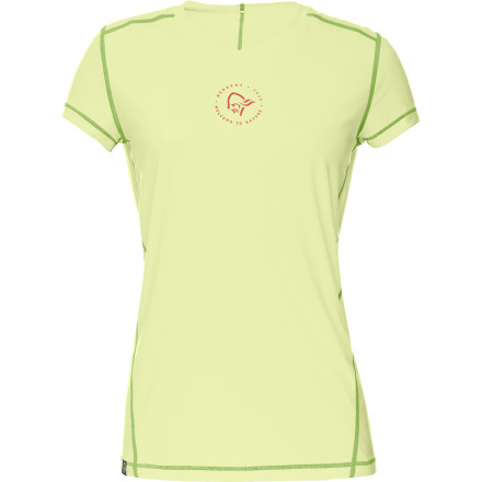 photo: Norrona Women's /29 Tech Tee short sleeve performance top