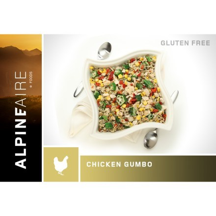 photo: AlpineAire Foods Chicken Gumbo meat entrée