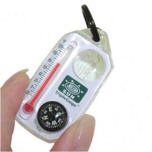 Sun Company Triple Gage Compass