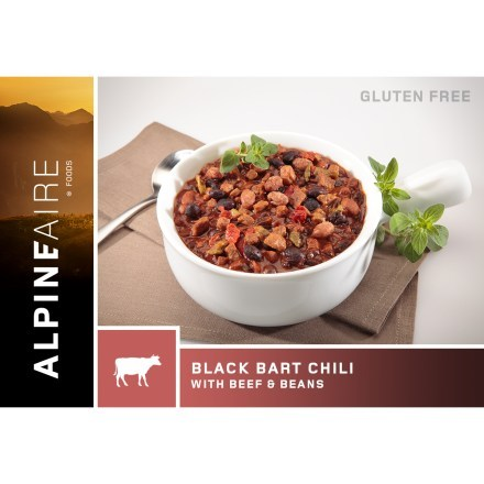 AlpineAire Foods Black Bart Chili with Beef and Beans