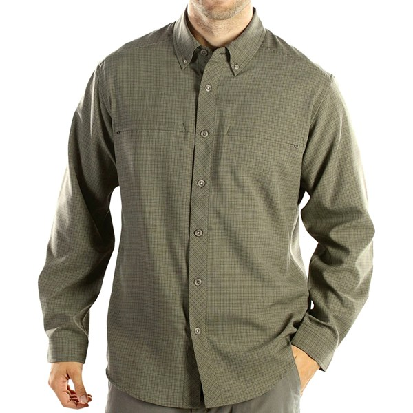 ExOfficio Trifecta Check Long-Sleeve Shirt