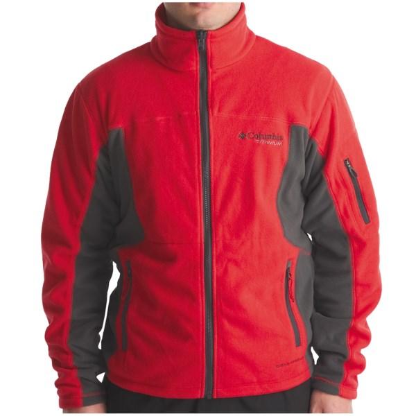 photo: Columbia Boulder Peak Full Zip fleece jacket