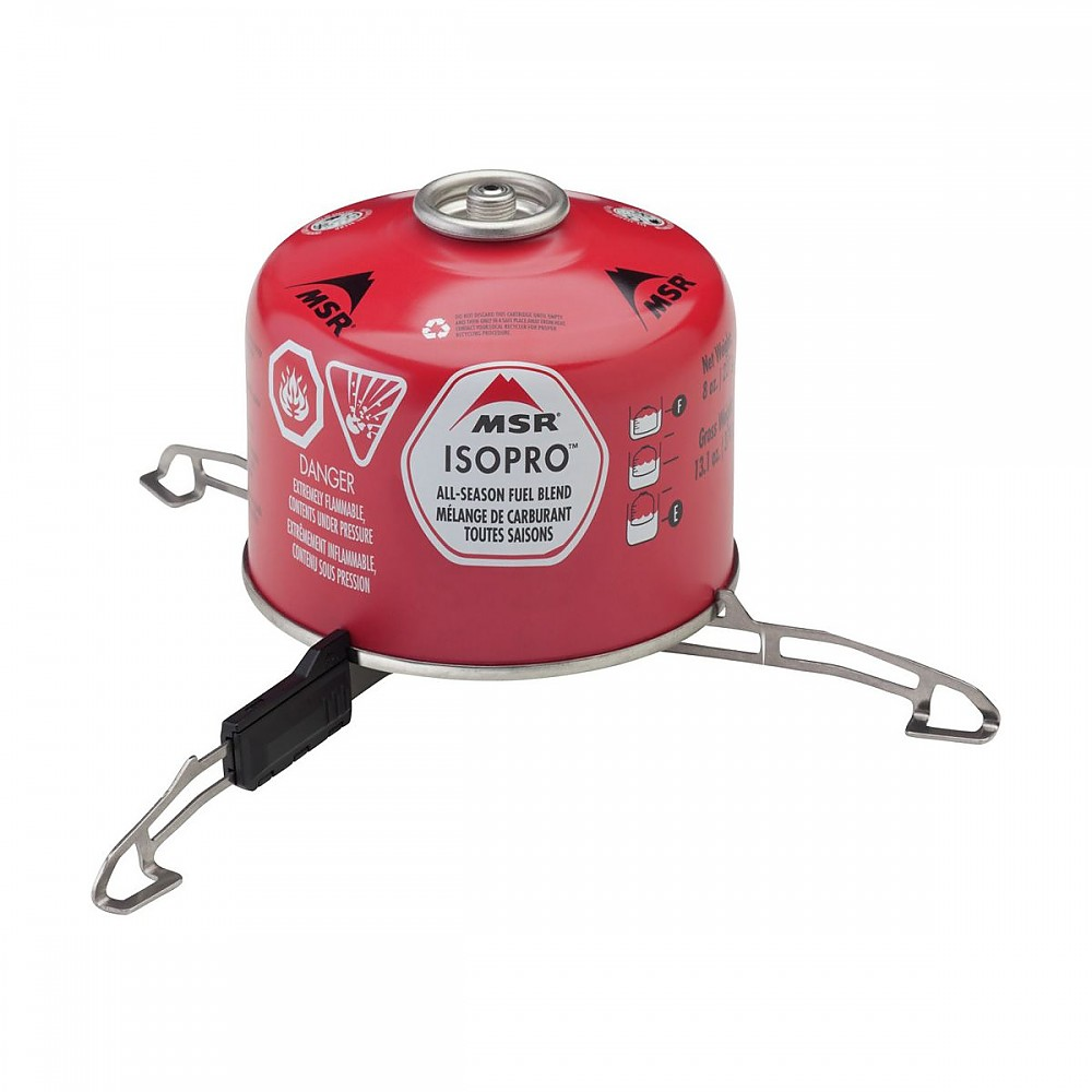 photo: MSR Universal Canister Stand stove accessory