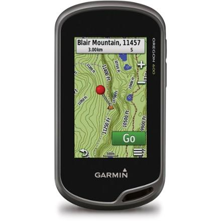 photo: Garmin Oregon 600 handheld gps receiver