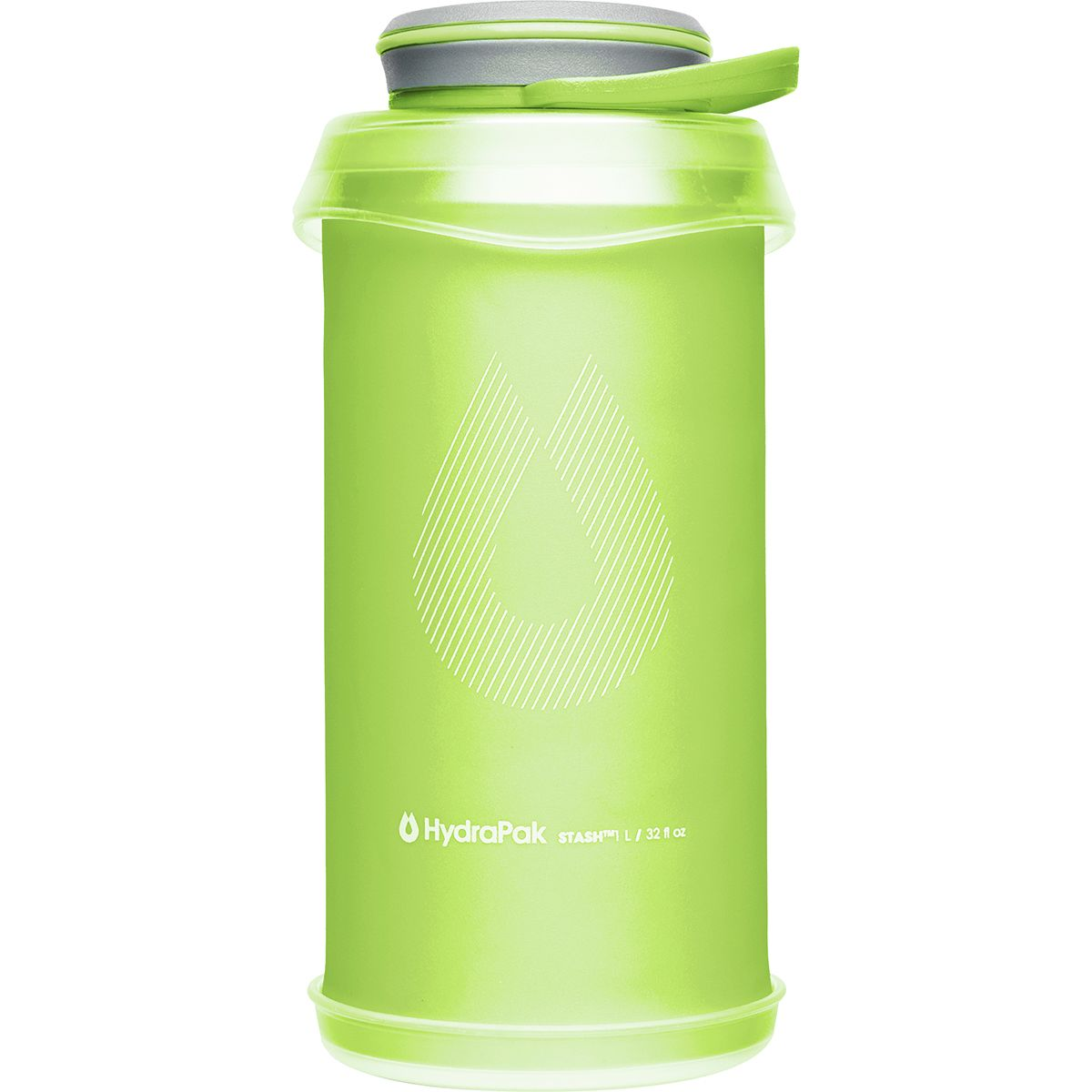 photo: Hydrapak Stash 1L water bottle
