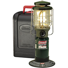 photo: Coleman NorthStar Duel Mantle Perfectflow InstaStart fuel-burning lantern