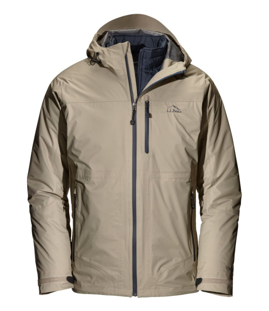 photo: L.L.Bean Men's Weather Challenger 3-in-1 Jacket component (3-in-1) jacket