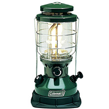 photo: Coleman Dual Fuel Lantern fuel-burning lantern