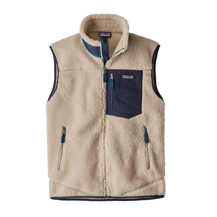 photo: Patagonia Classic Retro-X Vest fleece vest
