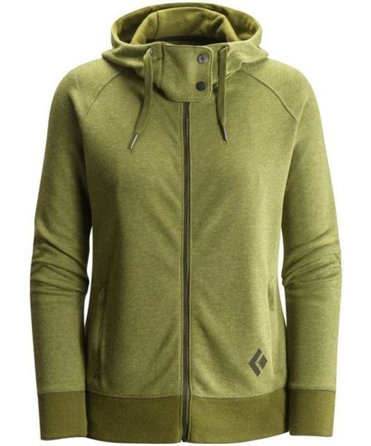 photo: Black Diamond Women's Boulder Hoody fleece top