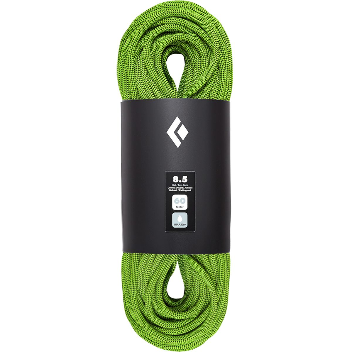 photo: Black Diamond 8.5 Dry Climbing Rope dynamic rope