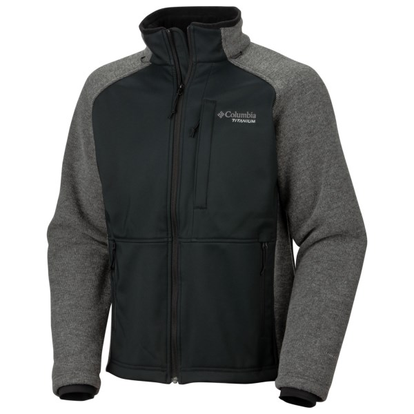 photo: Columbia Travel Jacket fleece jacket