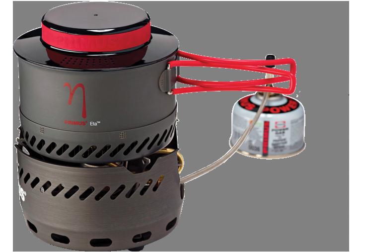 photo: Primus Eta Spider compressed fuel canister stove