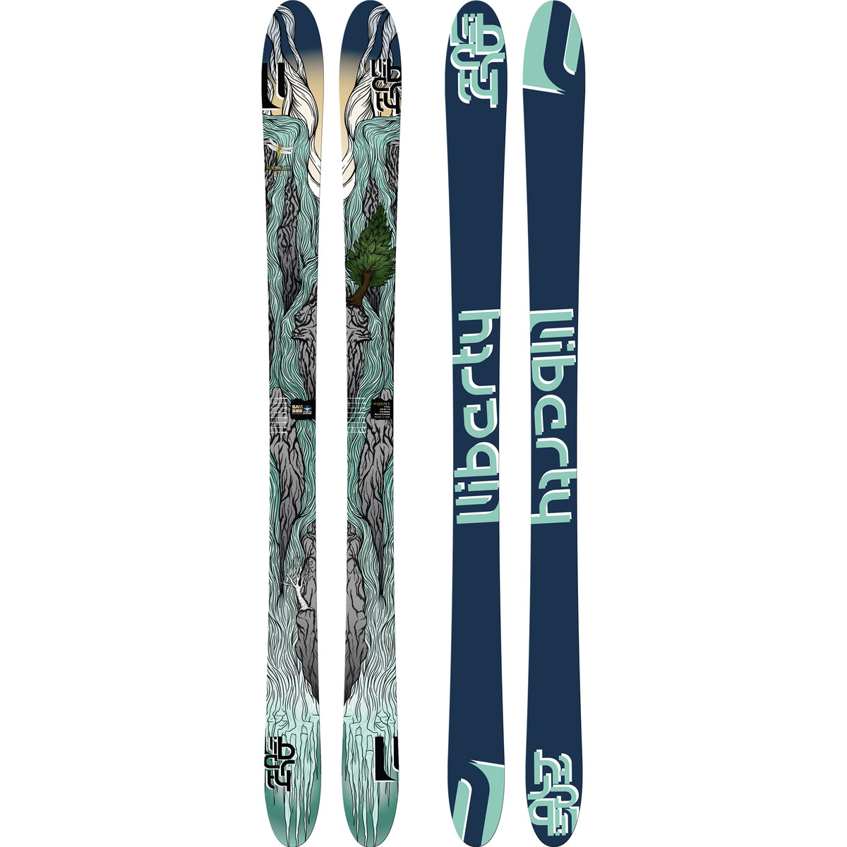photo: Liberty Skis Sequence alpine touring/telemark ski
